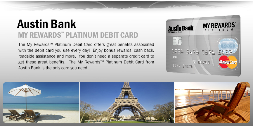 My Rewards™ Platinum Debit Card