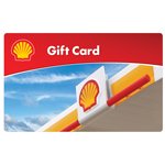 SHELL GAS<sup>&reg;</sup> $25 Gift Card